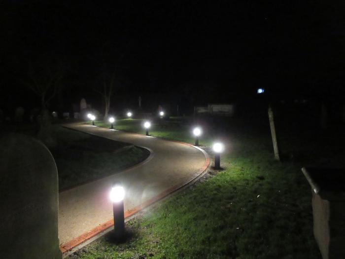tattenhall online low level lighting installed