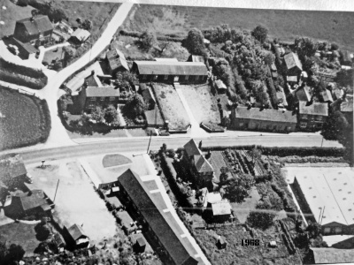 1968 Village Hall   aerial view