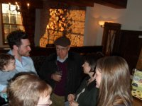 2014 Welcome evening at the Badger Inn