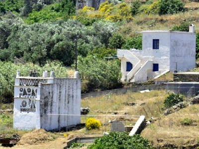 Andros dovecotes as big as houses