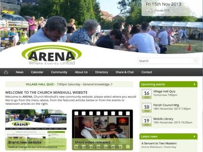 ARENA Home page 15Nov13