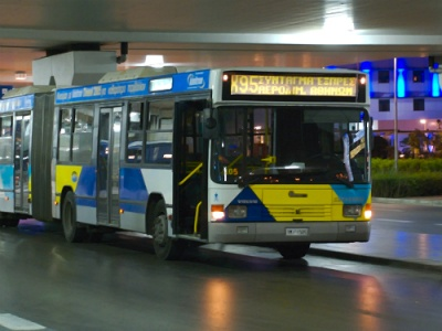 Athens airport bus