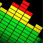 audio, graph, volume (*)