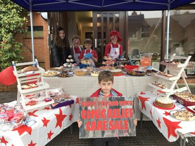 Baking for Comic Relief (1)