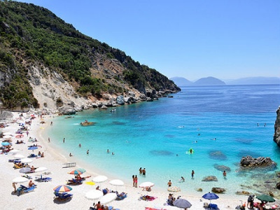 Beautiful Lefkas beaches