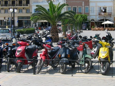 Bikes on Kalymnos