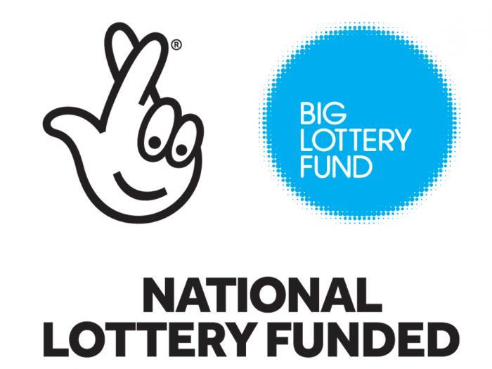 Blue large Lottary Fund Image