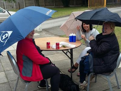 Braving the Elements - Tarvin Fete 2017