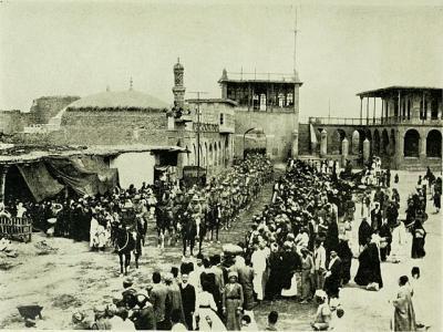 British troops enter Baghdad