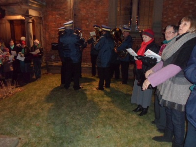 Carols round the tree 2012