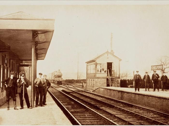 Chelford Station 1900s