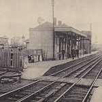 Chelford Station in 1905