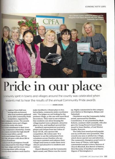 Cheshire life - Community pride