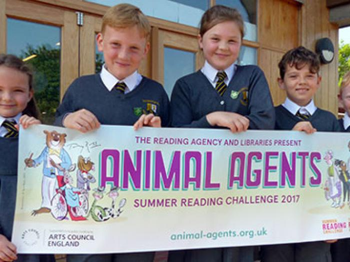 Children with Animal Agent banner