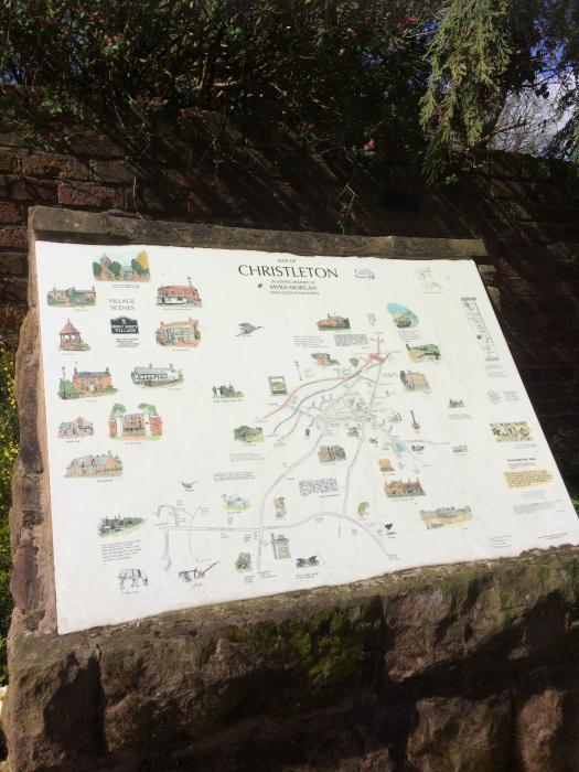 Christleton Signage Board (1)