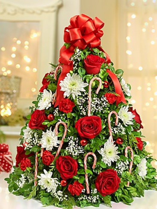 Christmas Flower Decorations 1