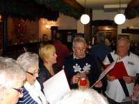 Christmas singalong with the Sing for Fun group