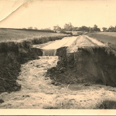 Church Minshull Breach 1958