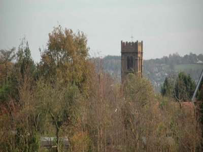 Church Tower Landscape
