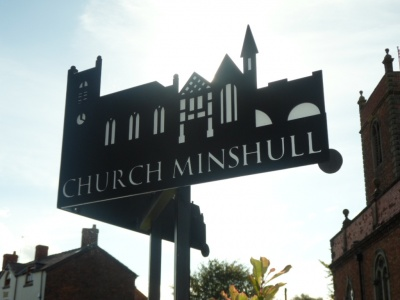 CM village sign