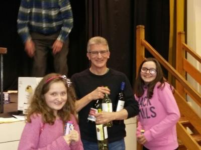 Community Centre Table Top Quiz - Feb 2016 Winners