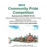 Community Pride poster