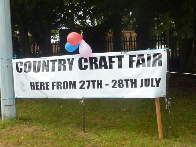 Country Craft Fair Banner at The Emporium