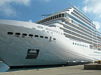 Cruise ship launches 2012 season