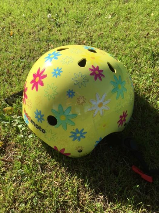 Cycle helmet lost