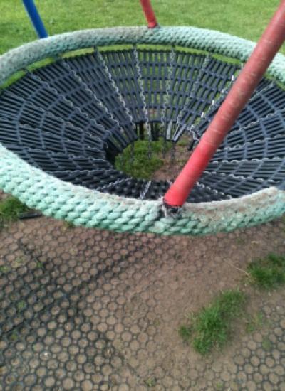 Damaged Swing