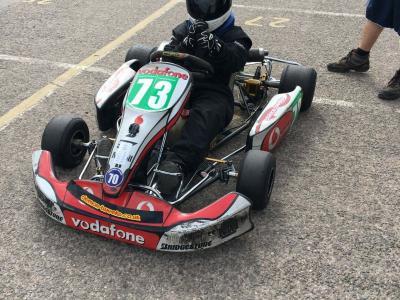 Daniel Kenny -Tarporley school karting 2017