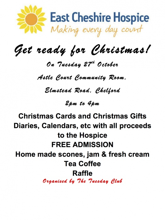 East Cheshire Hospice Get ready for Christmas