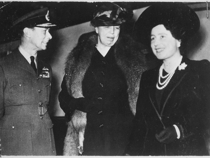 Eleanor_roosevelt _king_george_vi _queen_elizabeth_in_london _england
