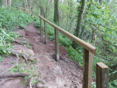 Footpath rails