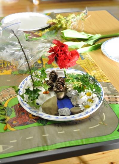 Garden on a plate