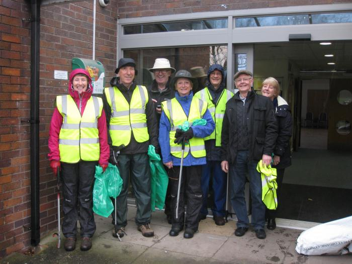 GB Spring Clean - Some of Sunday's Volunteers