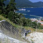 Great views over Thassos
