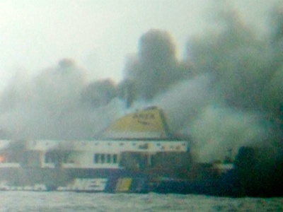 greek ferry fire norman atlantic