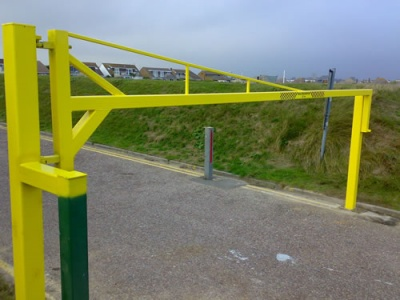 height barriers