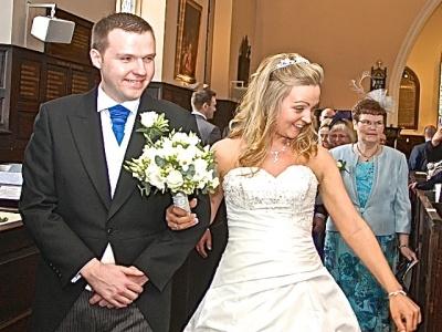 Joanne & Keith's wedding