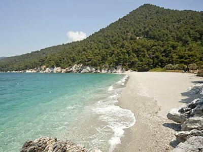 Kastani beach on Skopelos
