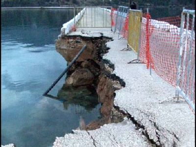 Kefalonia bridge collapse