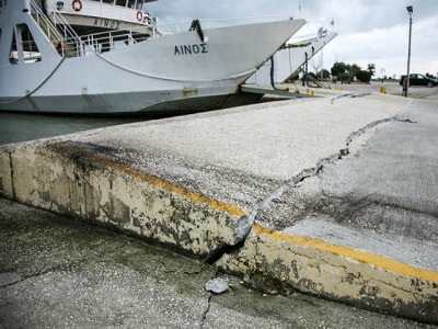 kefalonia earthquake