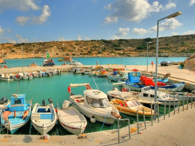 Kolymbia harbour Rhodes