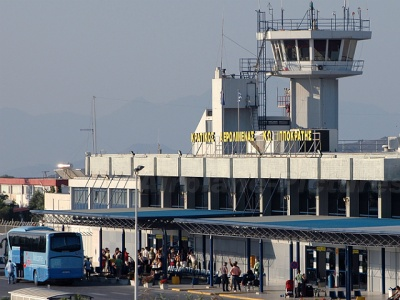 Kos airport holiday arrivals