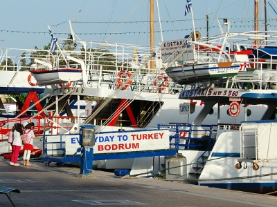 Kos to Bodrum ferry