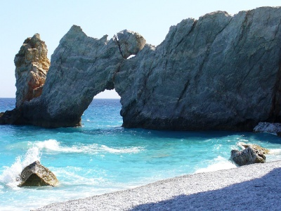 Lalaria Beach on Skiathos