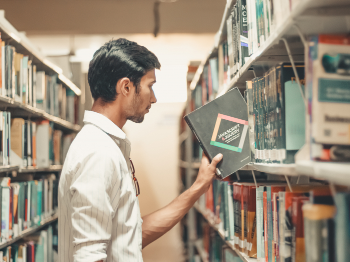 library, books, learning, student