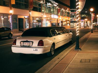 limo, luxury, limousine