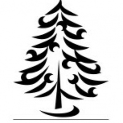 Logo christmas tree